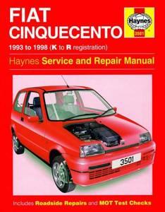 Bilde av Haynes bilbok Fiat Cinquecento