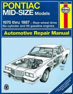 Bilde av Pontiac Mid-Size Models (70 -