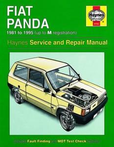 Bilde av Haynes bilbok Fiat Panda (81 -