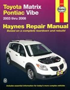 Bilde av Toyota Matrix & Pontiac Vibe (03