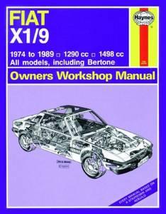 Bilde av Haynes bilbok Fiat X1/9 (74 -