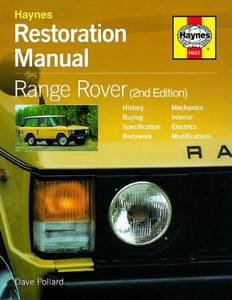 Bilde av Range Rover Restoration Manual