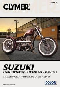 Bilde av Clymer Manuals Suzuki LS650
