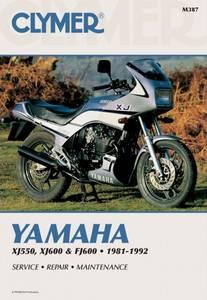 Bilde av Clymer Manuals Yamaha XJ550,