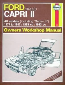 Bilde av Ford Capri II (and III) 1.6 and