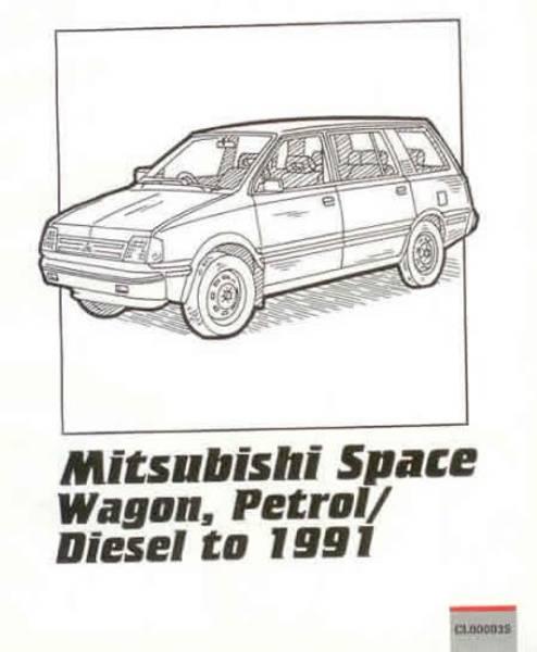 Peter Russek reparasjonshåndbok Mitsubishi Space Wagon