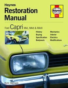 Bilde av Ford Capri Restoration Manual,