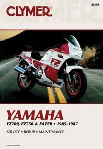 Bilde av Clymer Manuals Yamaha FZ700,