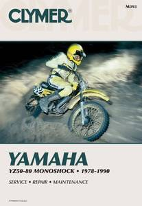 Bilde av Clymer Manuals Yamaha YZ50-80