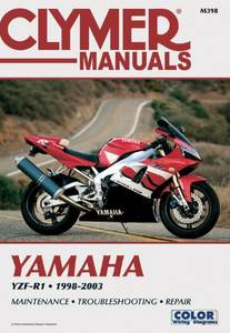 Bilde av Clymer Manuals Yamaha YZF-R1