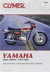 Bilde av Clymer Manuals Yamaha 650cc