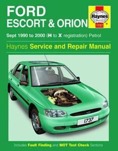 Bilde av Ford Escort and Orion Petrol