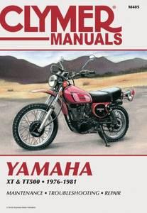 Bilde av Clymer Manuals Yamaha XT500,