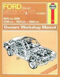 Bilde av Ford Escort Mk I Mexico, RS 1600