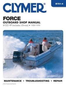 Bilde av Clymer Manuals Force 4-150 HP,
