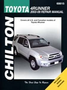 Bilde av Toyota 4Runner 2003-09, Chilton