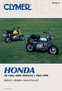 Bilde av Clymer Manuals Honda 50-110cc,