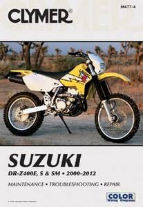 Bilde av Clymer Manuals Suzuki DR-Z400E,