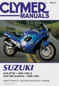Bilde av Clymer Manuals Suzuki GSX-R750,