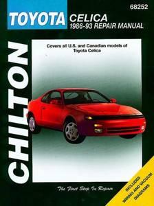 Bilde av Toyota Celica (86 - 93), Chilton