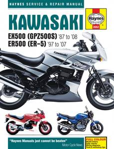 Bilde av Kawasaki EX500 (GPZ500S) & ER500