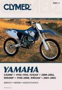Bilde av Clymer Manuals Yamaha YZ400F,
