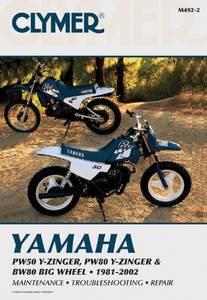 Bilde av Clymer Manuals Yamaha PW50, PW80