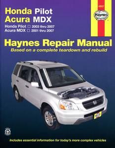 Bilde av Honda Pilot & Acura MDX 01 to 07