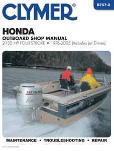 Bilde av Clymer Manuals Honda 2-130 HP