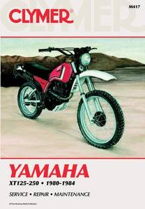 Bilde av Clymer Manuals Yamaha XT125-250