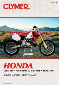 Bilde av Clymer Manuals Honda CR250R,
