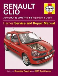 Bilde av Haynes, Renault Clio (01-05)
