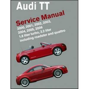 Bilde av Audi TT Service Manual 2000-2006