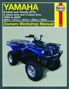 Bilde av Yamaha Kodiak & Grizzly ATVs (93