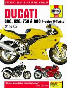 Bilde av Ducati 600, 620, 750 and 900
