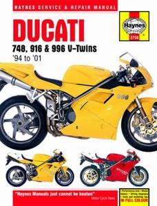 Bilde av Ducati 748, 916 and 996 4-valve