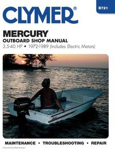 Bilde av Clymer Manuals Mercury 3.5 - 40