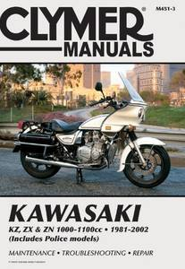 Bilde av Clymer Manuals Kawasaki KZ, ZX