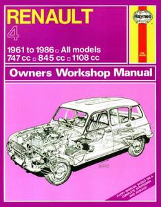 Bilde av Haynes, Renault 4 (61 - 86)
