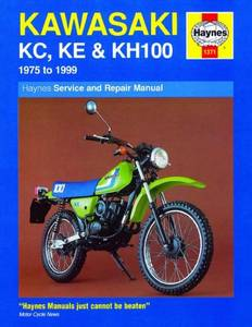 Bilde av Kawasaki KC, KE and KH100 (75 -