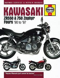 Bilde av Kawasaki ZR550 and 750 Zephyr
