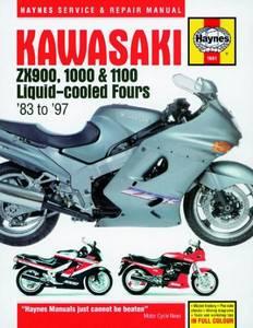 Bilde av Kawasaki ZX900, 1000 and 1100