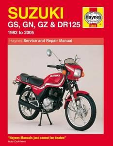 Bilde av Suzuki GS, GN, GZ & DR125