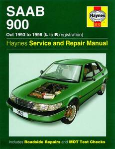 Bilde av Haynes, Saab 900 (Oct 93 - 98)