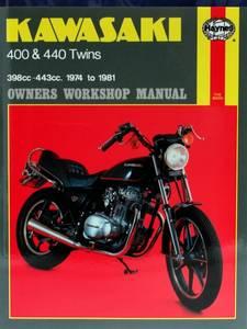 Bilde av Kawasaki 400 & 440 Twins (74 -