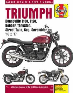 Bilde av Triumph Bonneville T100, T120,
