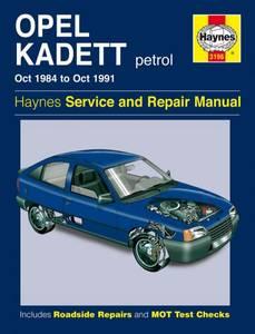 Bilde av Haynes, Opel Kadett Petrol (Oct