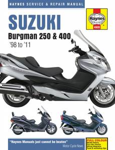 Bilde av Suzuki Burgman 250 & 400