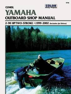 Bilde av Clymer Manuals Yamaha 2-90 HP,