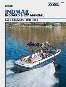 Bilde av Clymer Manuals Indmar GM V-8